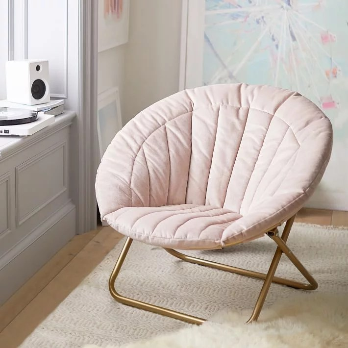 hang a round chair aluminum pool chairs velvet channel stitch gifts for teens