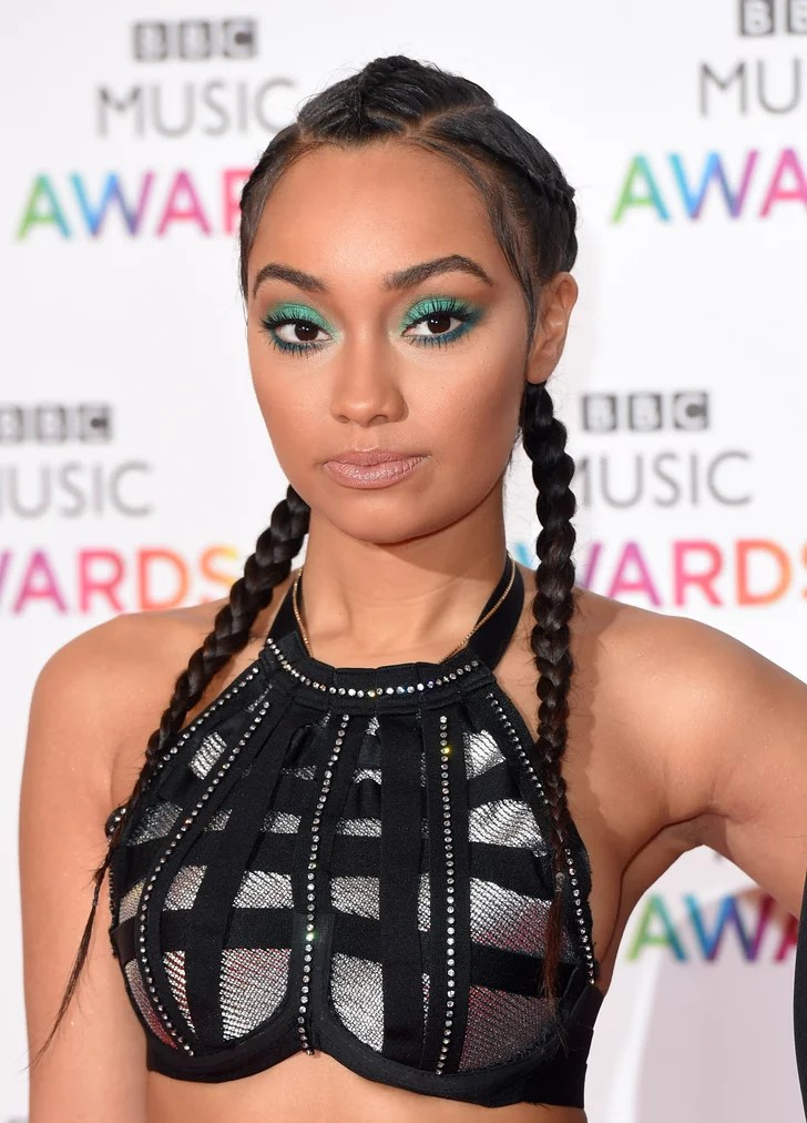 Leigh Anne Pinnock Beautiful Summer Plait Hairstyles