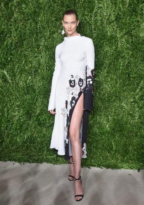 Karlie Kloss Wearing Prabal Gurung