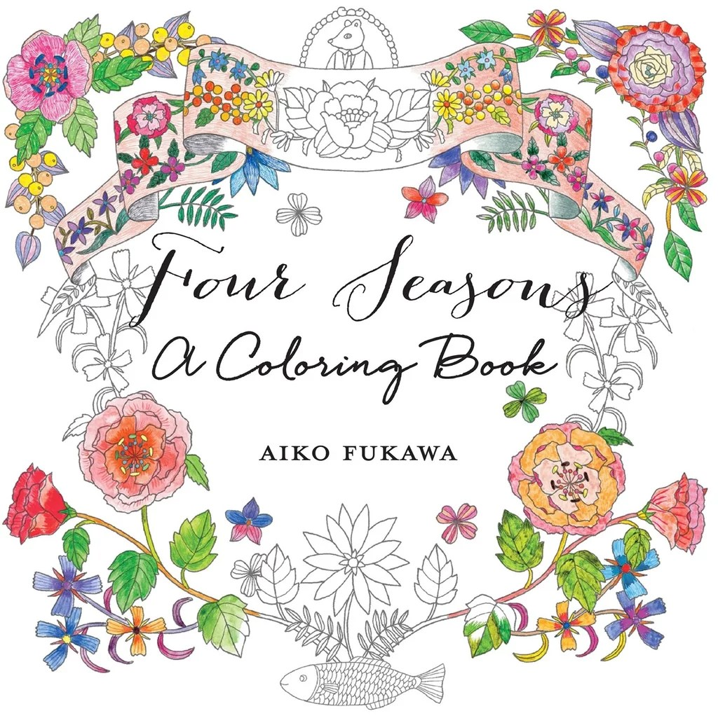 Four Seasons A Coloring Book