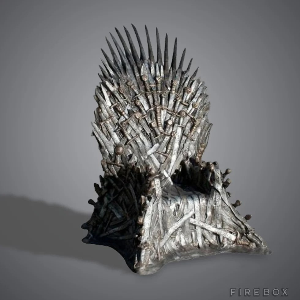 game of throne chair the chairman sure it s pricey but if you snag this iron inspired thrones