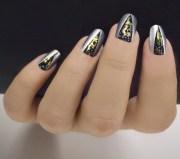 year's eve nail art popsugar