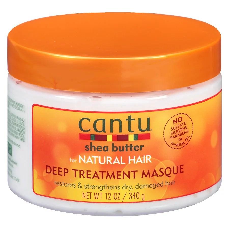 For Afro Hair Textures: Cantu Shea Butter Deep Treatment Hair Masque