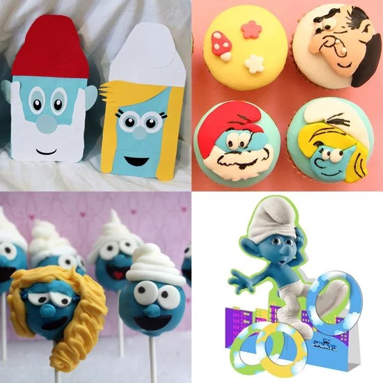 Party Ideas For A Smurfs Themed Birthday Party Popsugar