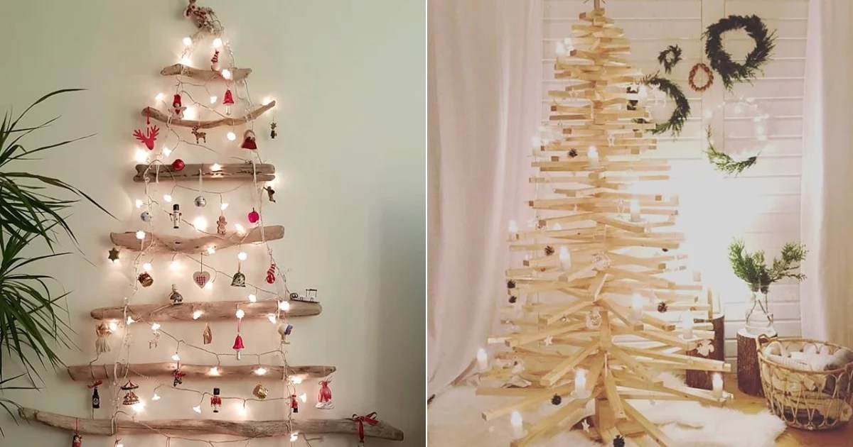 Unique Christmas Tree Alternatives Popsugar Smart Living