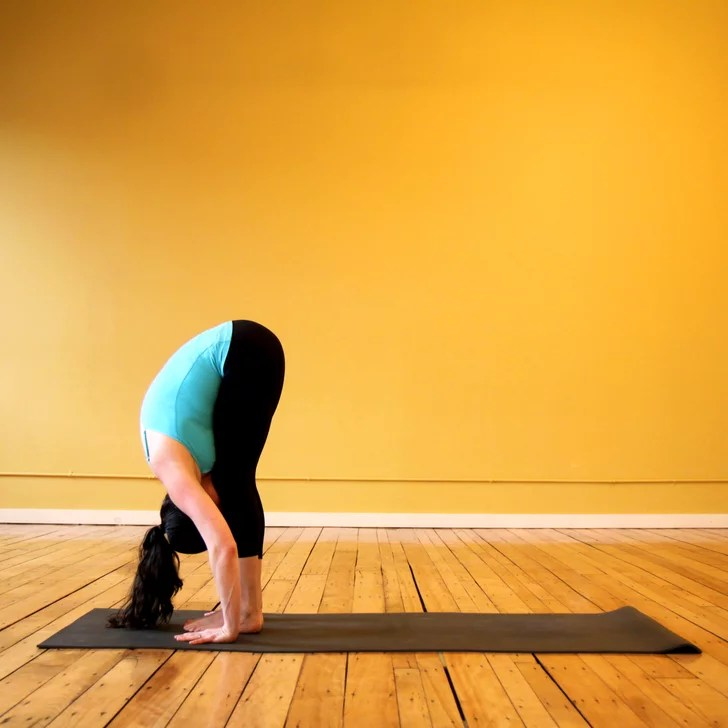 Standing Forward Bend  Yoga Sequence For Thighs