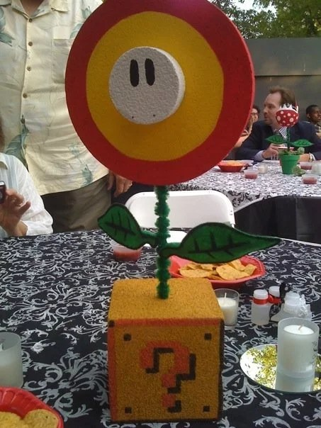 Super Mario Bros Wedding Centerpieces POPSUGAR Tech