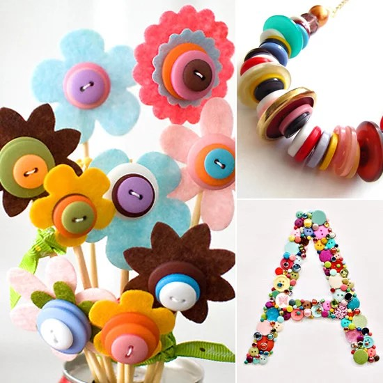 Button Craft Ideas Popsugar Family