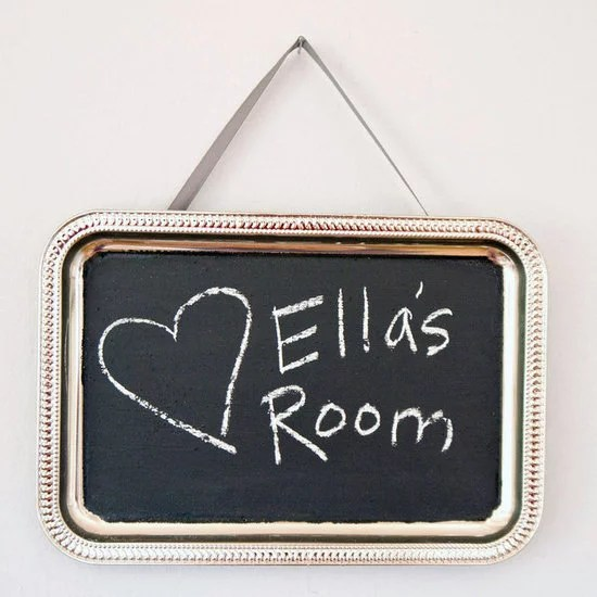 Make Your Own Chalkboard Paint  And Use It