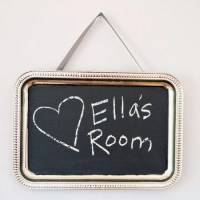 Make Your Own Chalkboard Paint  And Use It | Rainy Day ...