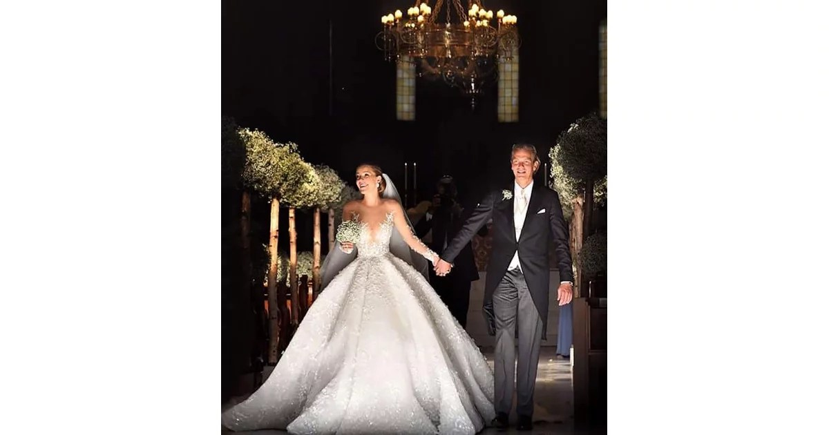The Gown Cost Over A Million Dollars
