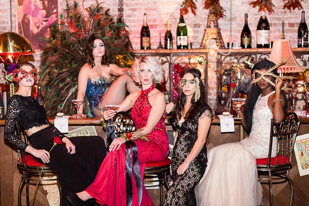 Moulin Rouge Wedding Dress  Wedding Dress  Decore Ideas