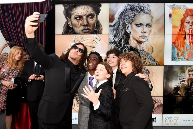 Norman Reedus Looked Really Good at the Critics' Choice Awards, It's Just That Simple