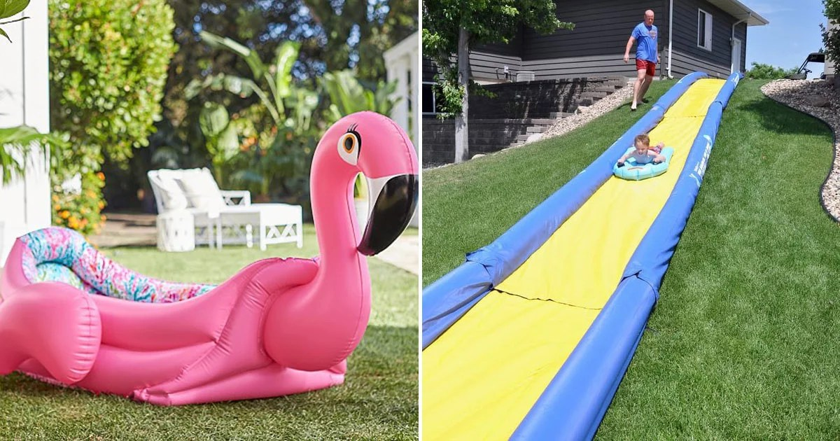 Bring the Water Park to Your Backyard This Summer With These 8 Pools and Toys For Adults
