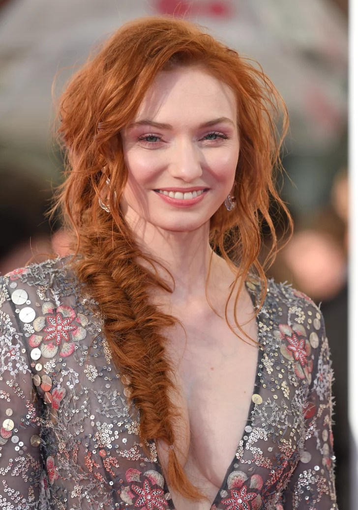 Eleanor Tomlinson Hairstyles Long Hair In Hot Weather
