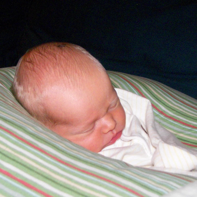 baby sleeping in a boppy online