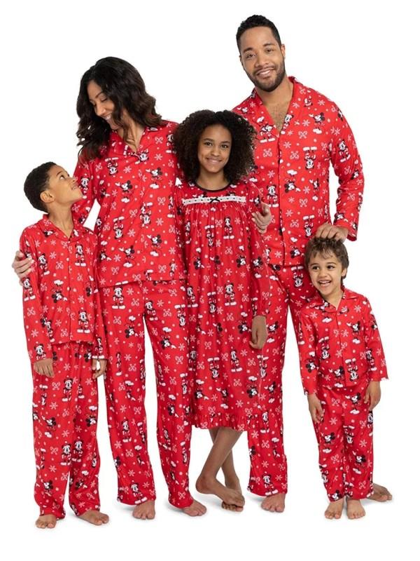 Disney Mickey Mouse Holiday Family Pajamas Matching
