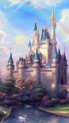 castle fantasy disney iphone wallpapers popsugar