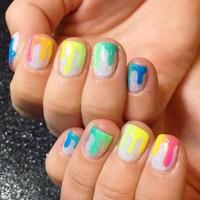 Neon Nail Art Ideas | POPSUGAR Beauty