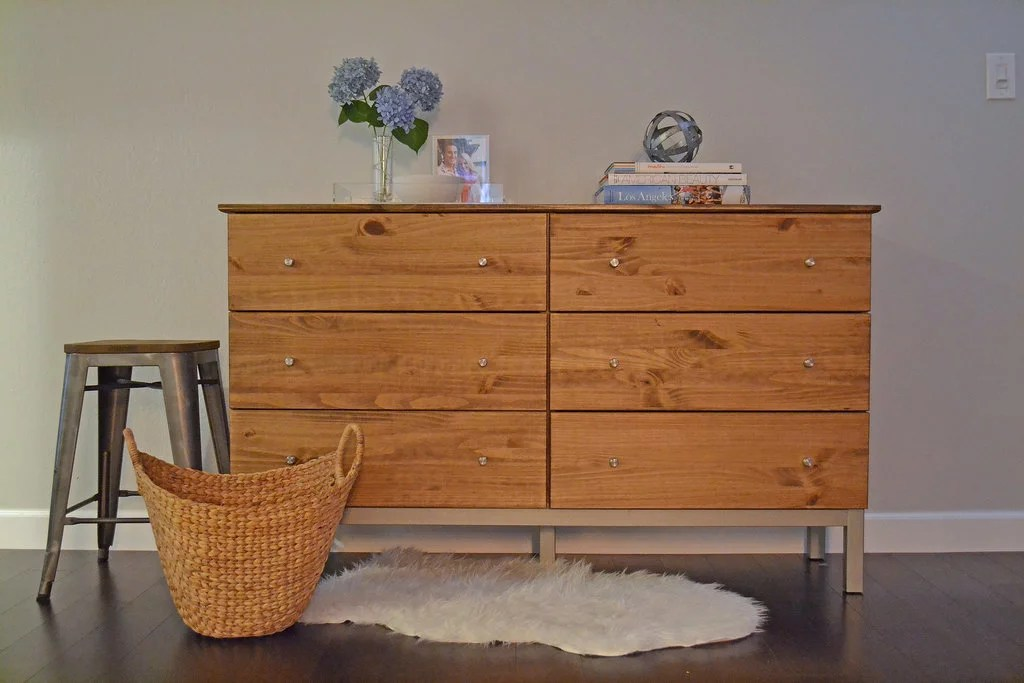 Modern Rustic Ikea Dresser Best DIY Projects For Home