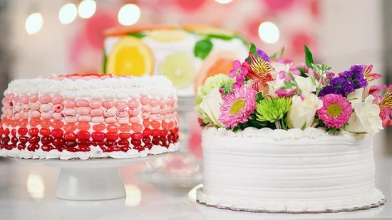 3 Stunning Ways To Dress Up A Store Bought Cake
