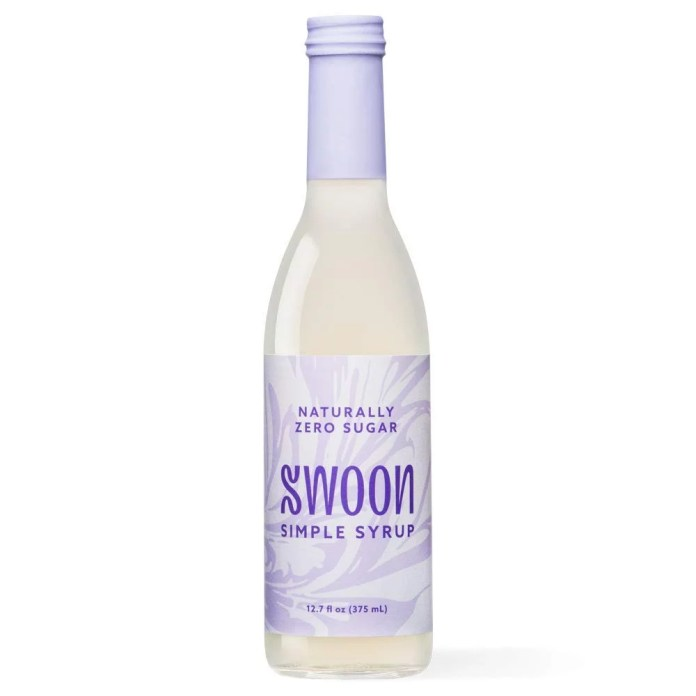 Swoon Zero Sugar Simple Syrup