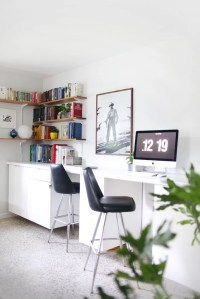 Custom Built-In Desks | Ikea Desk Hacks | POPSUGAR Home ...