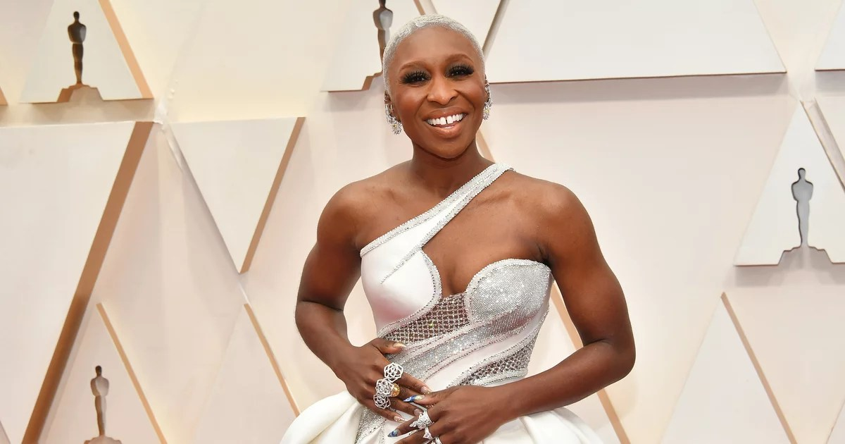 I Can't Tell Who Deserves the Oscar More  Cynthia Erivo or Her Blue French Manicure