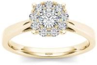 Modern Bride Diamond Ring   Michelle Williams Engagement ...