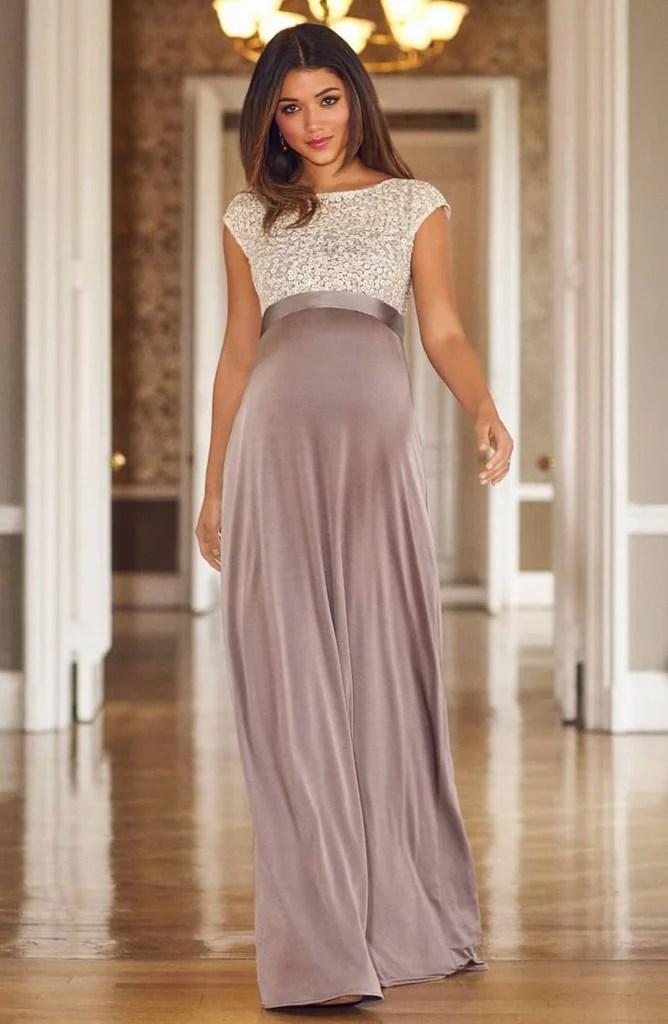 Black Maternity Dress Rental Tie