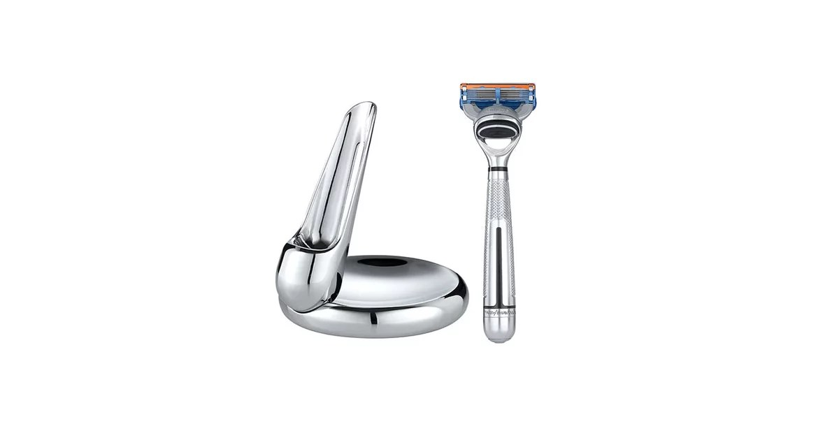 The Art of Shaving Fusion™ Chrome Collection Manual Razor