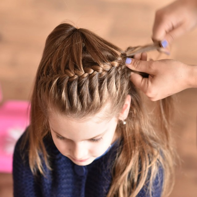 easy hairstyles for girls | popsugar australia parenting
