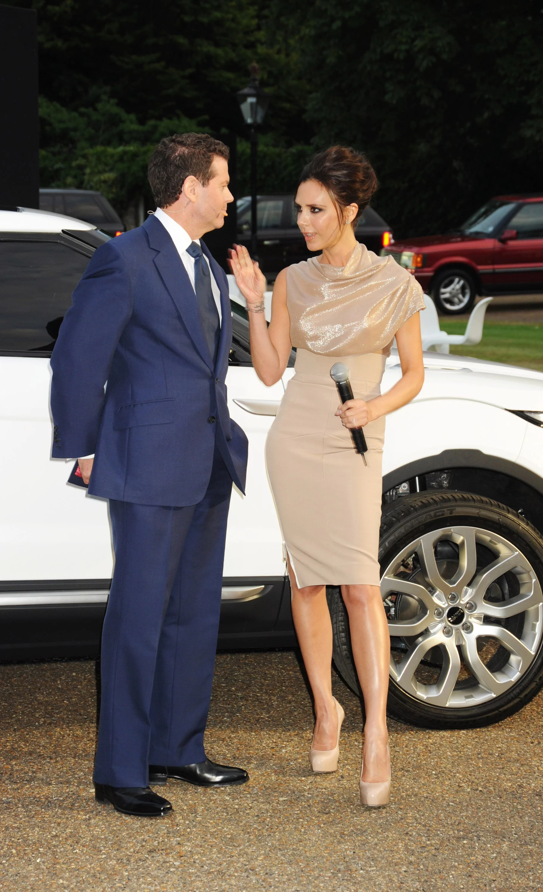 of Victoria Beckham at Range Rover Anniversary Party in