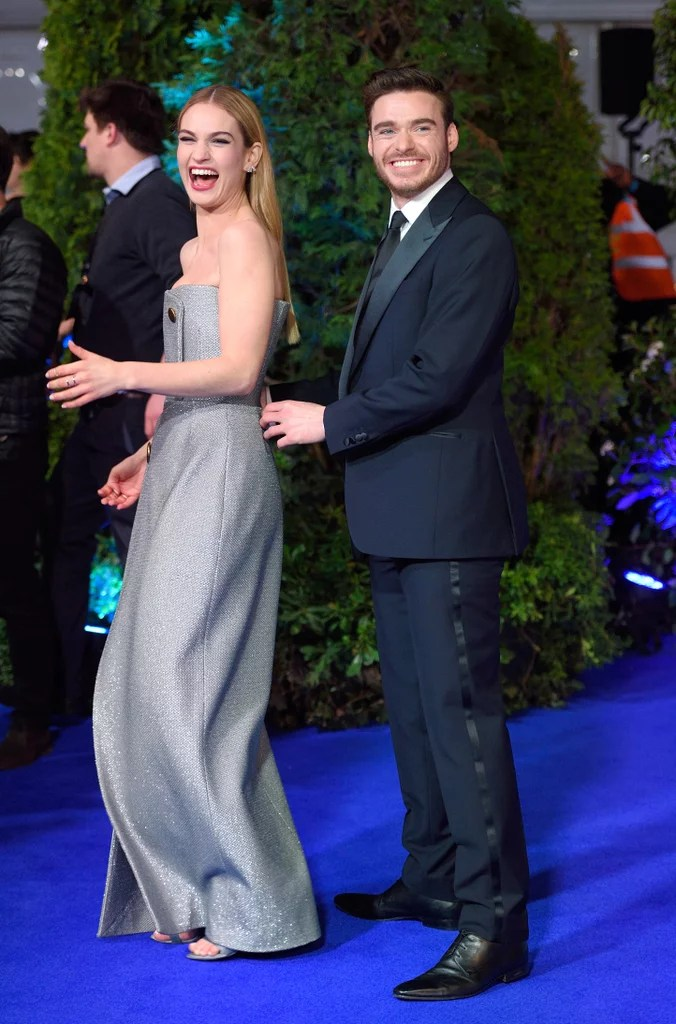 Lily James and Richard Madden were cuter than ever at ...