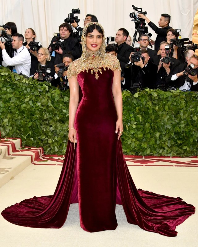 Image result for chopra met gala 2018 pictures