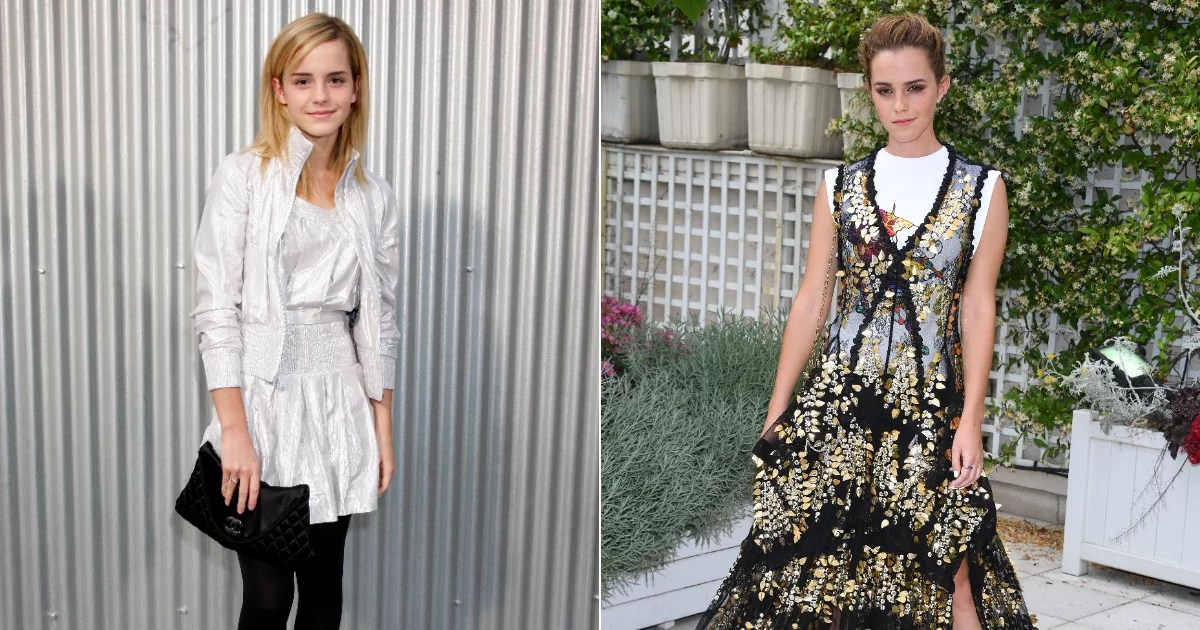 Emma Watson's Style Transformation Is as Magical as the Harry Potter Movies Themselves