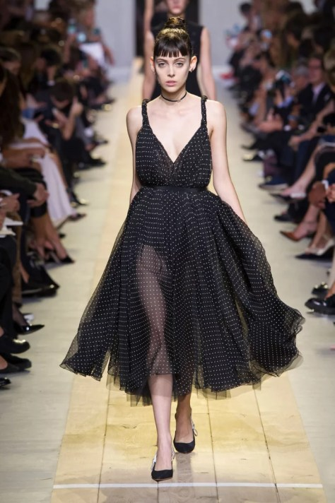 The Dior Spring 2017 collection debuted at Paris Fashion Week on Sept. 30.
