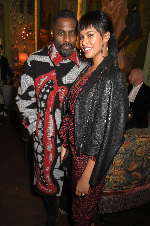 Idris Elba Sabrina Dhowre : idris, sabrina, dhowre, Idris, Fiancee, Sabrina, Dhowre, Fashion, POPSUGAR, Celebrity