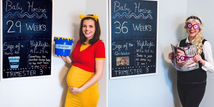 Bears, Beets, and Infants: See This Mom's Disney, Harry Potter, and The Office Pregnancy Photos