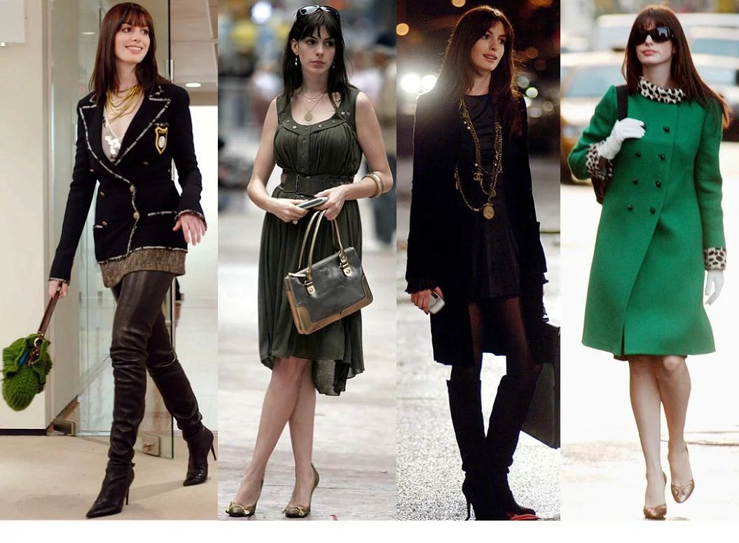 Andy Sachs Wore A LOT of Designer Looks | The Devil Wears Prada ...