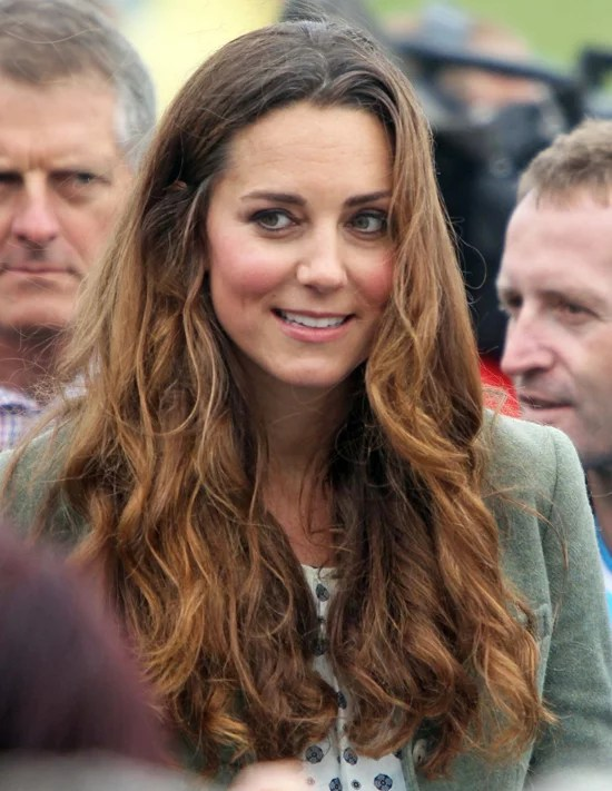 Au Naturel  Kate Middletons Bad Hair Moments  POPSUGAR