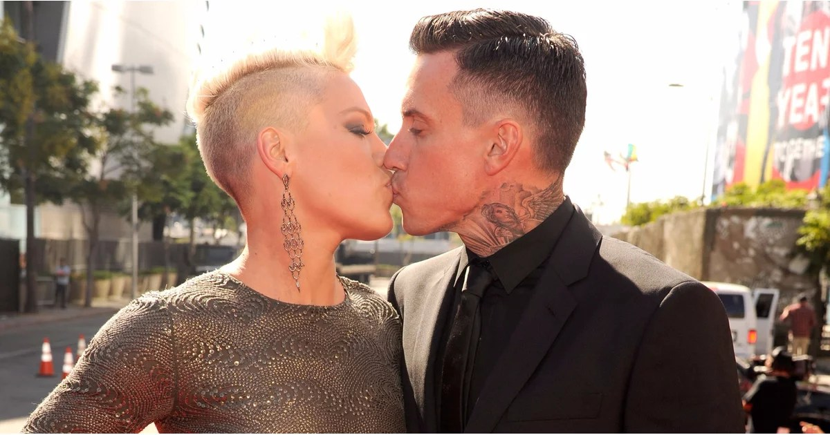 Pink's Anniversary Message For Carey Hart On Instagram