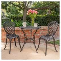 La Sola Metal Bistro Set Target Outdoor Furniture