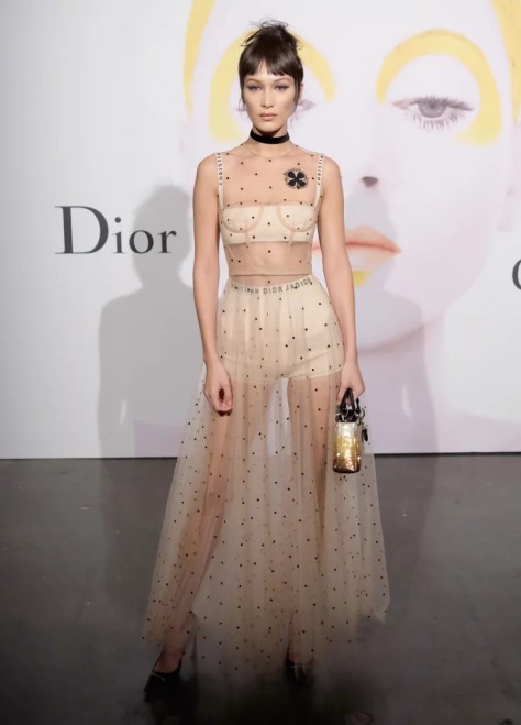 Bella Hadid Wearing Christian Dior