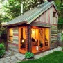 People Turned Tiny Backyard Sheds Into The Coolest Part Of