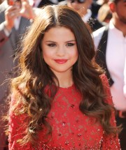 red selena gomez's color of