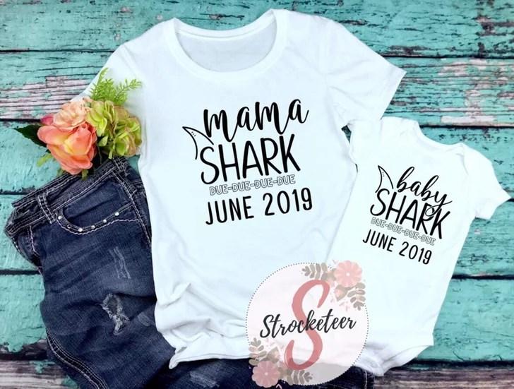 baby shark pregnancy announcement
