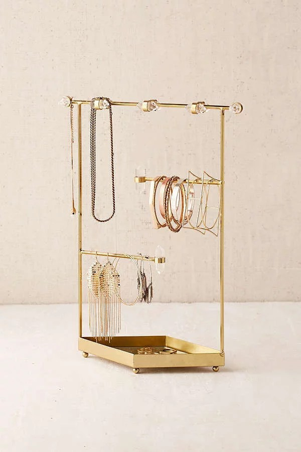 Urban Outfitters Crystal Jewelry Organizer Best