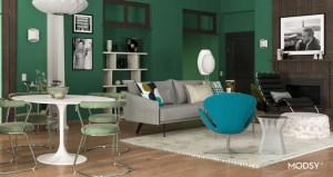 living zoom background midcentury grace inspired modsy backgrounds jack apartment popsugar interiors culture chic million meeting filters