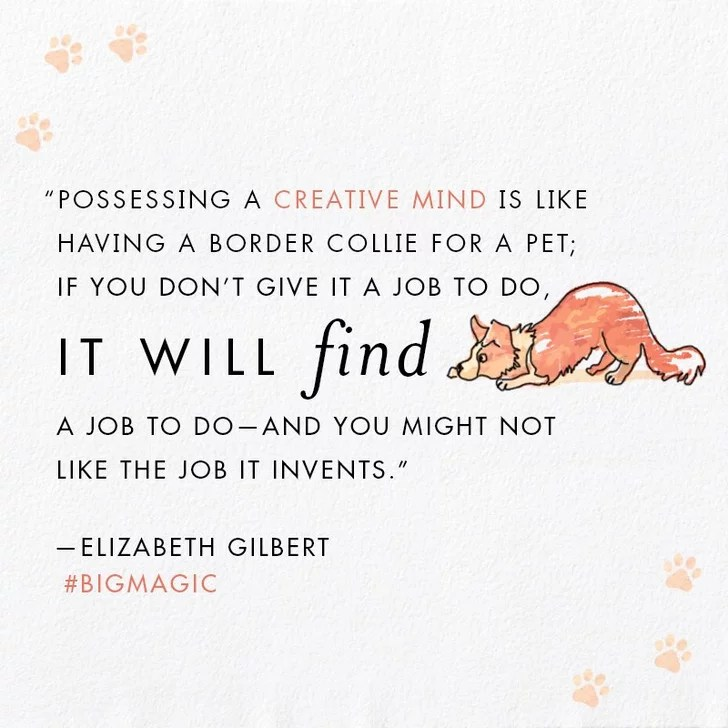 Quotes From Elizabeth Gilbert's Big Magic POPSUGAR Smart